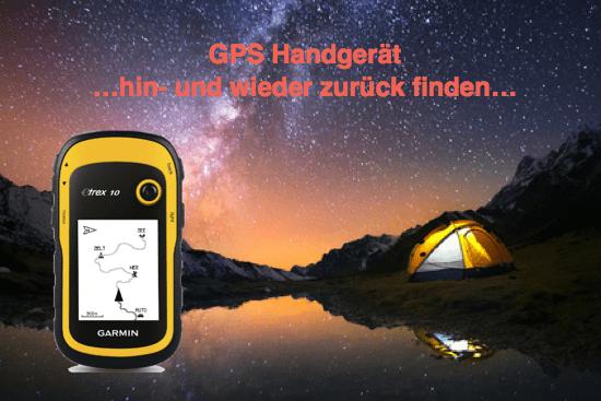 GPS Handgeraet