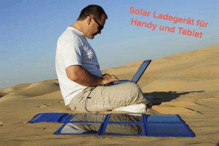 Solar Ladegerät für Handy