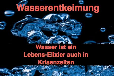 Wasserentkeimung